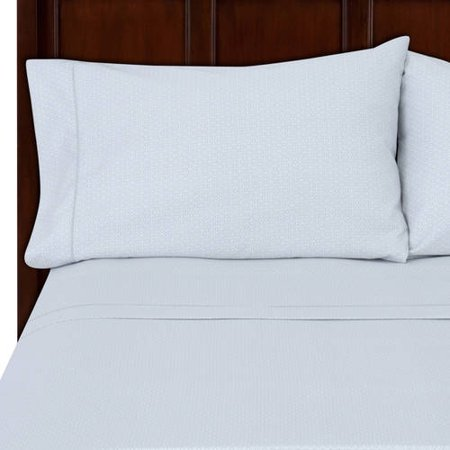 Hotel Style 500 Thread Count Wrinkle Free Egyptian Cotton True Grip Bedding Sheet Set