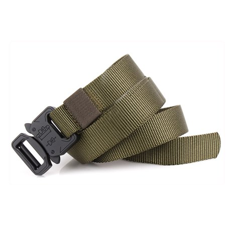 Lixada Tactical Quick Release Belt with Heavy Duty Buckle for Outdoor Camping Mountaineering Climbing Training