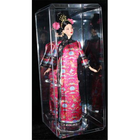 RDB Holdings & Consulting CTBL-f12163 Figurine Crystal Clear Display Case with Clear - Holding Crystal
