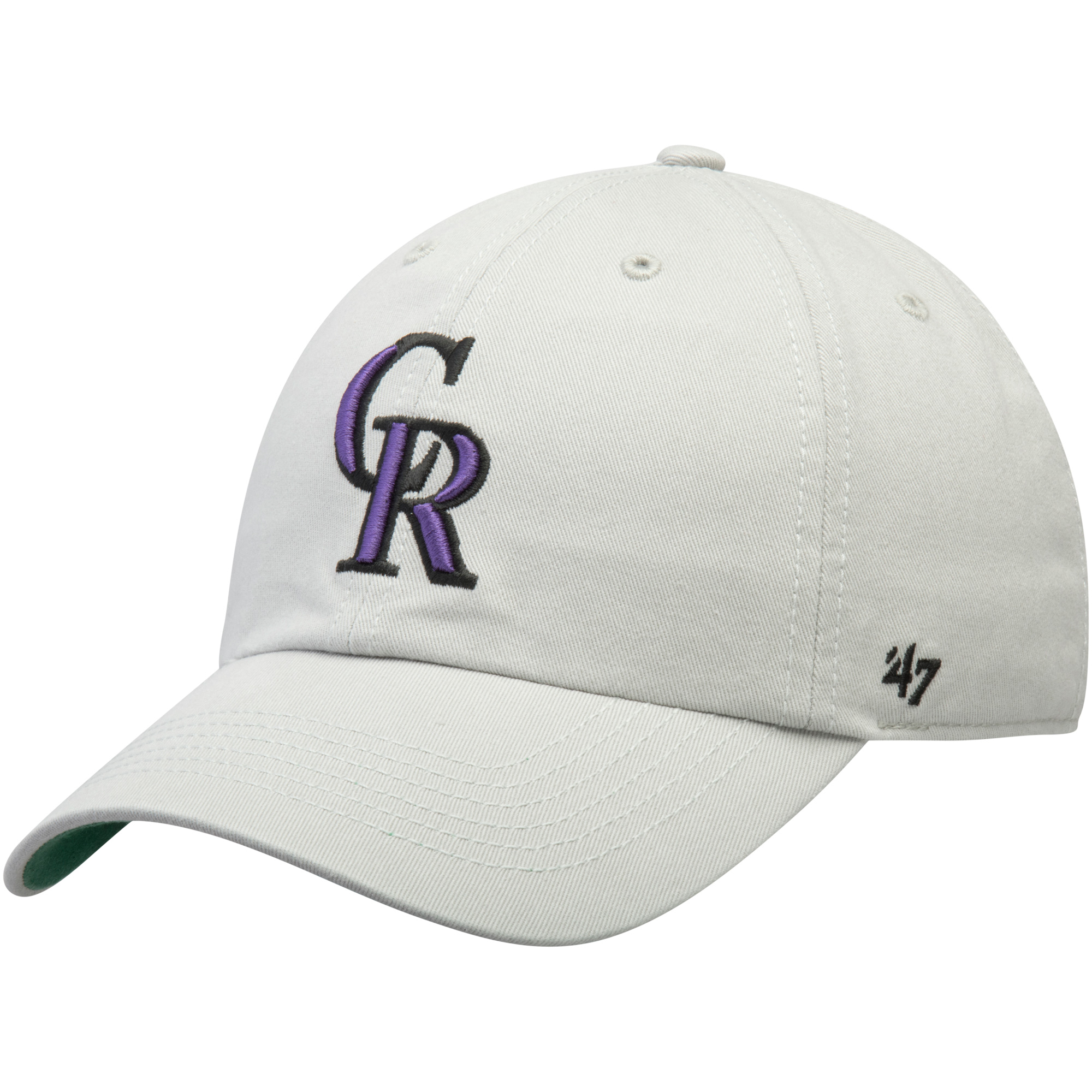 bb4b753ce73ee ... australia colorado rockies 47 primary logo franchise fitted hat gray  walmart aa471 f5d18