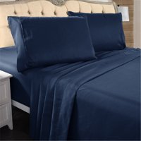 Product Image Hotel Luxury Bed Sheets 4 Pieces Extra Soft 16 Deep Pocket Brushed