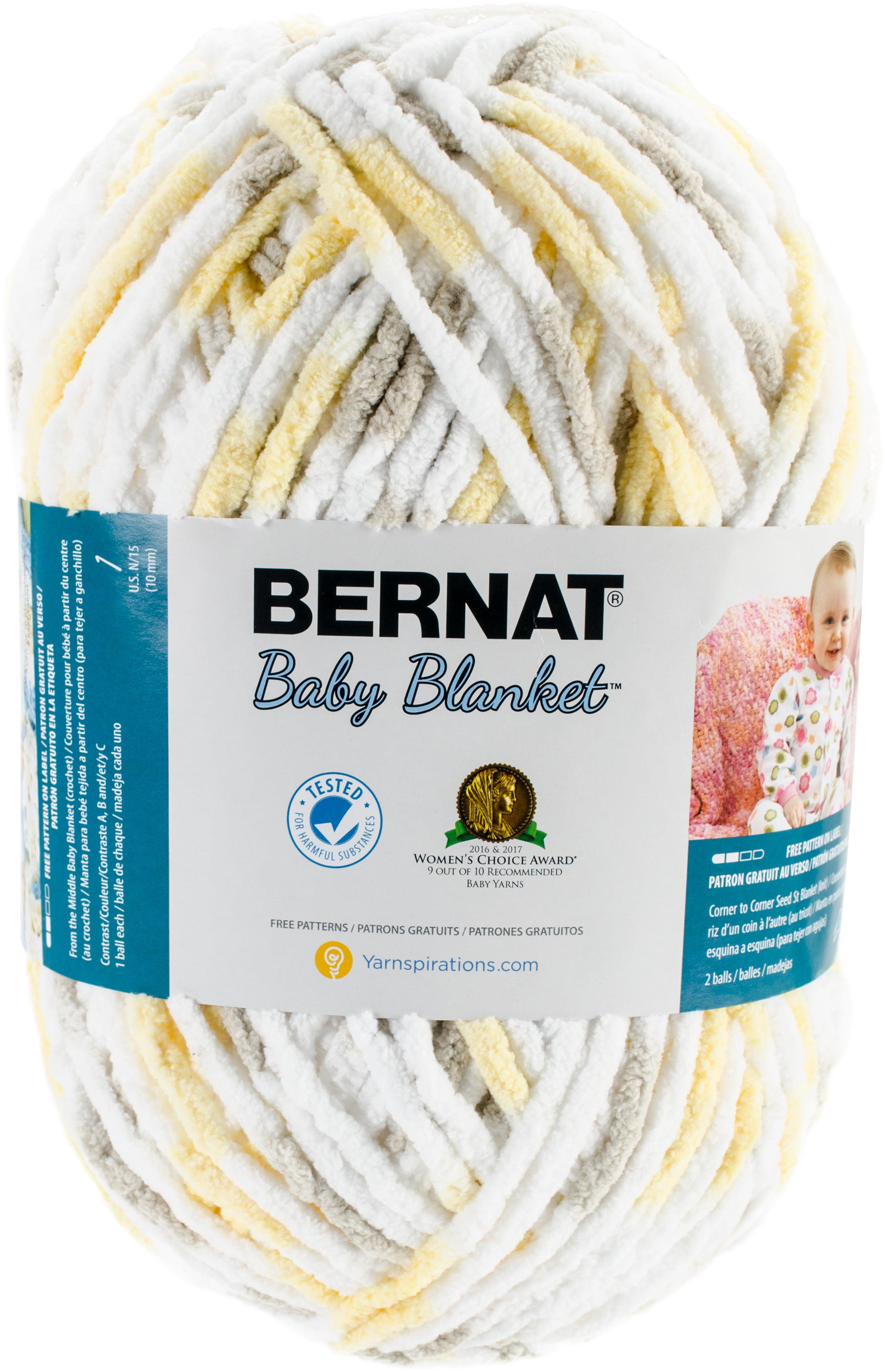 Bernat Baby Blanket Big Ball YarnChicks & Bunnies - Walmart.com