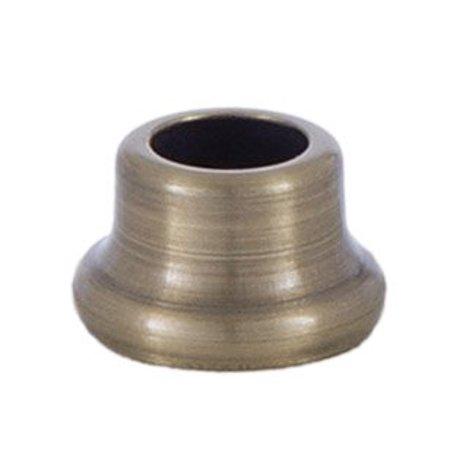 1/2 Inch Stamped Steel Nut in Antique Brass, ? Inch Stamped Steel Nut in Antique Brass By B&P Lamp