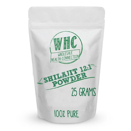 Shilajit Powder 25G  100 Servings    Supports Testosterone  Energy  Memory  Nutrient Absorption  Intelligence  Healthy Blood Sugar  Detox  Antioxidants