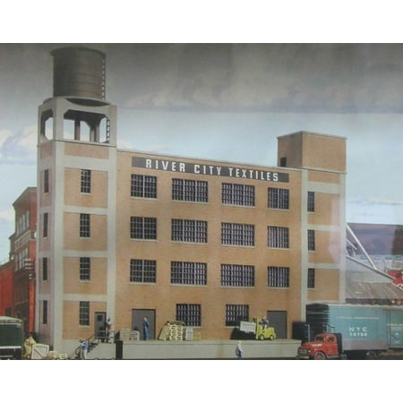 Walthers Cornerstone HO Scale Building/Structure Kit River City (River City Stores)