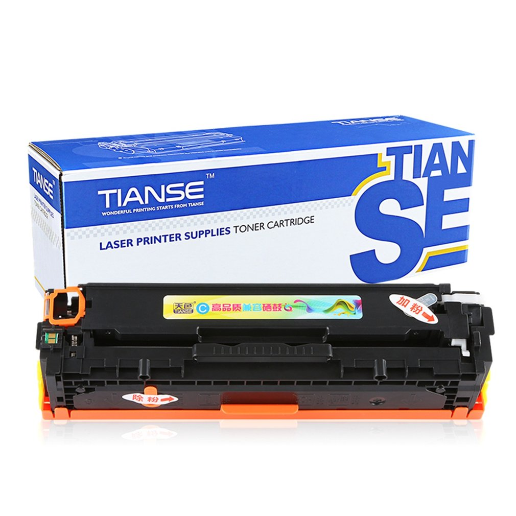 TIANSE Compatible CE321A Toner Cartridge Non-OEM For HP L...