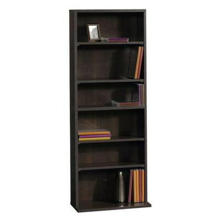 sauder beginnings multimedia storage tower cinnamon cherry. Black Bedroom Furniture Sets. Home Design Ideas