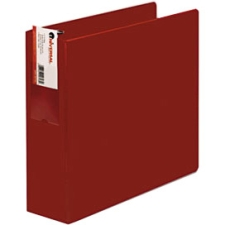 Universal D-Ring Binder with Label Holder, 3in Capacity