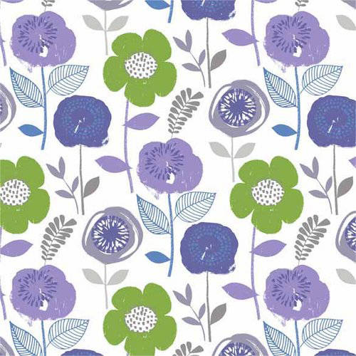Waverly PR Bloom Lilac Fabric by the Yard