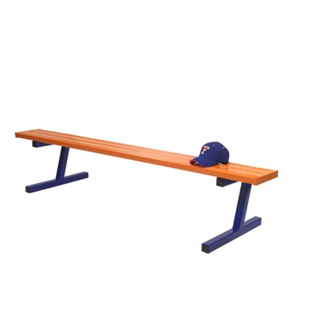 Jaypro Sports PB-95SMPC 27 ft.  Surface Mount Powder Coated Bench without Back