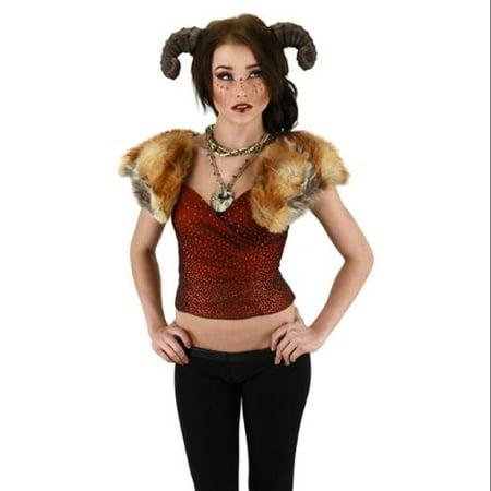 Adult Costume Satyr Horns](Satyr Costume Hooves)
