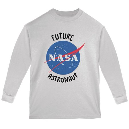 Future NASA Space Astronaut Youth Long Sleeve T Shirt