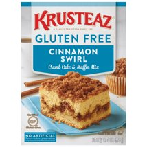 Baking Mixes: Krusteaz Gluten Free Cinnamon Swirl Crumb Cake & Muffin Mix