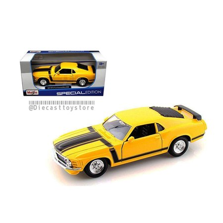 302 Mustang Engine - MAISTO 1:24 W/B SPECIAL EDITION 1970 FORD MUSTANG BOSS 302 31943YL