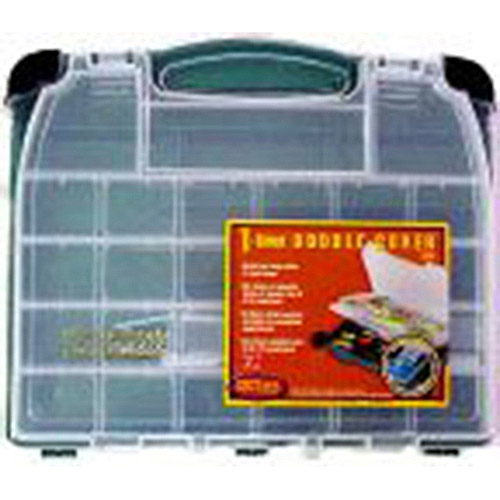 Plano Double Cover Tackle Box, Green