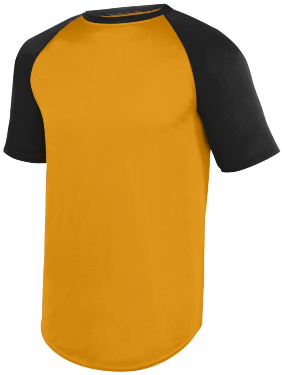 Augusta 1509 Youth Wicking Short Sleeve Baseball Jersey