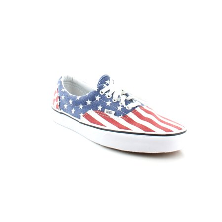 Vans Mens Era Stars  Stripes Ankle High Canvas Fashion Sneaker   9M