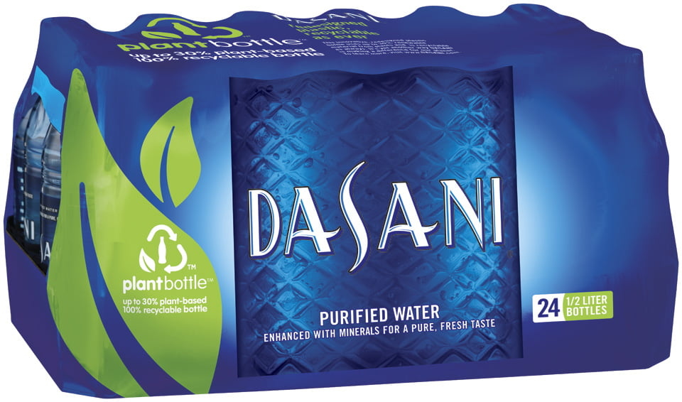 Click here to buy Dasani Purified Water, 16.9 Fl Oz, 24 Count by Coca-Cola.