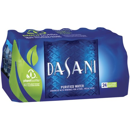 Dasani Purified Water, 16.9 Fl Oz, 24 Ct