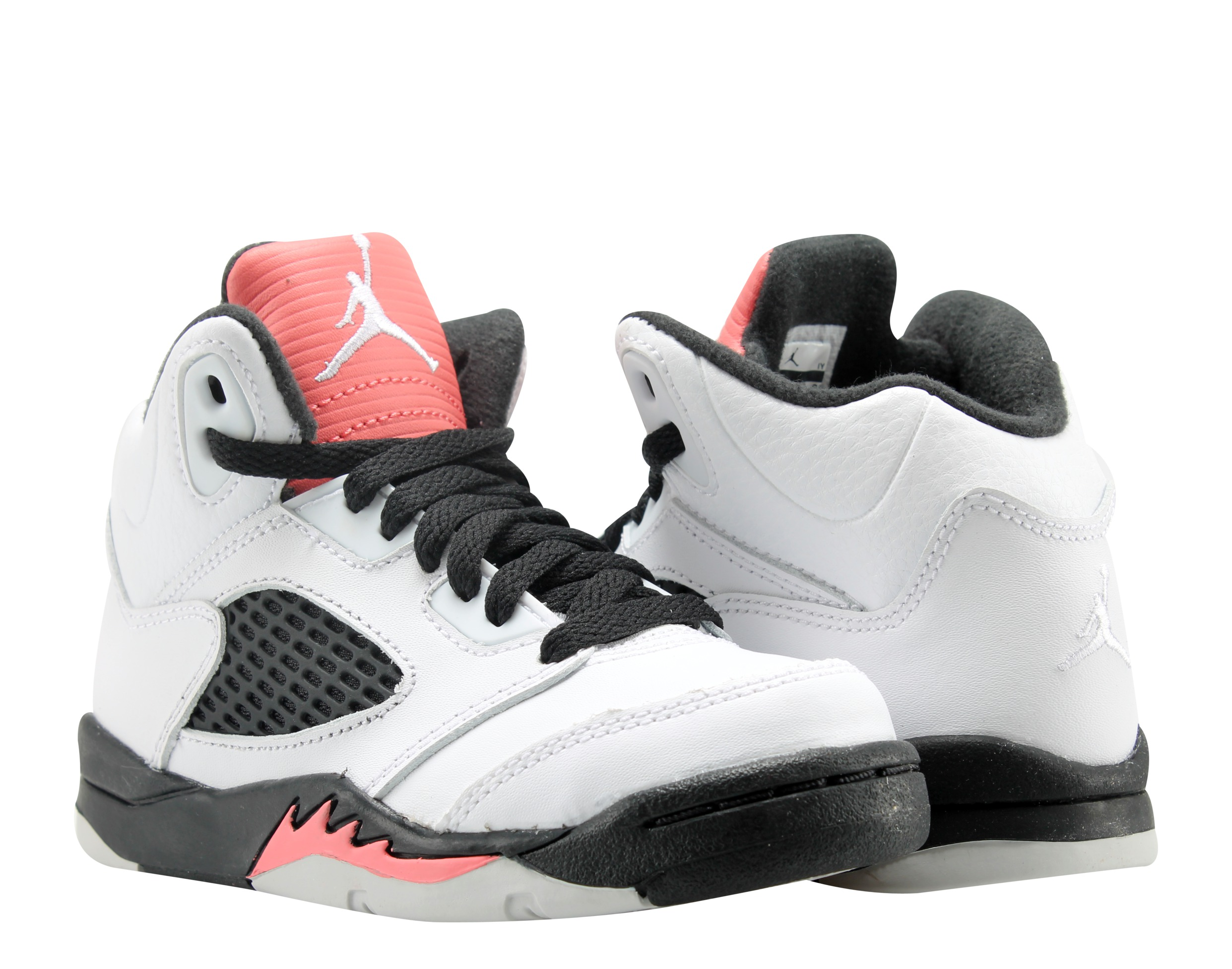 on sale 7bbe9 7ecf3 ... best price nike air jordan 5 retro gp wt pink blk little girls  basketball shoes 440893