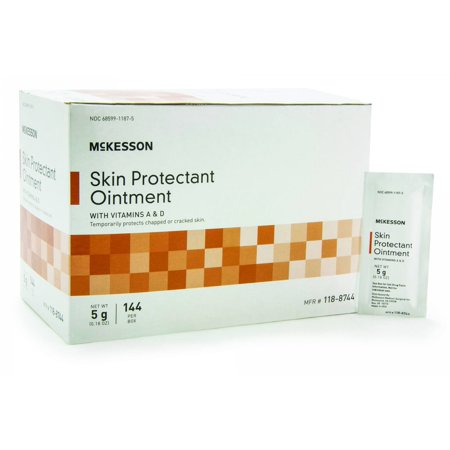 McKesson Skin Protectant Ointment 118-8744 5g Box of 144, Unscented