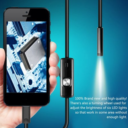 5.5Mm Endoscope Camera Flexible Ip67 Waterproof For Android Pc Notebook - image 5 of 5