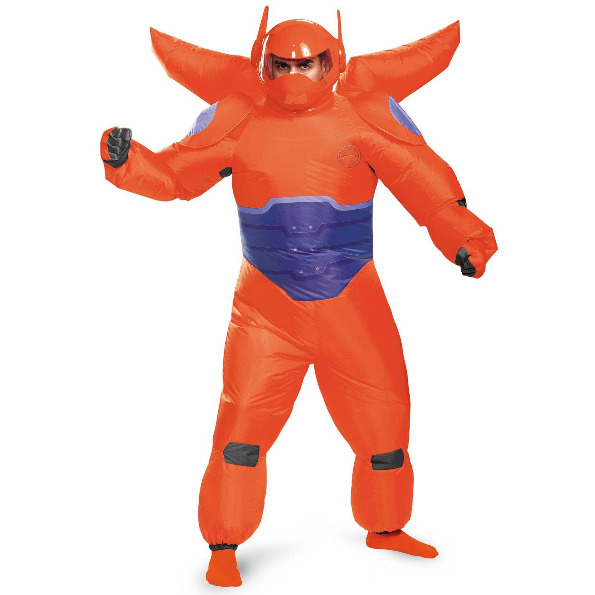 Big Hero 6 Red Baymax Inflatable Adult Halloween Costume, 1 Size
