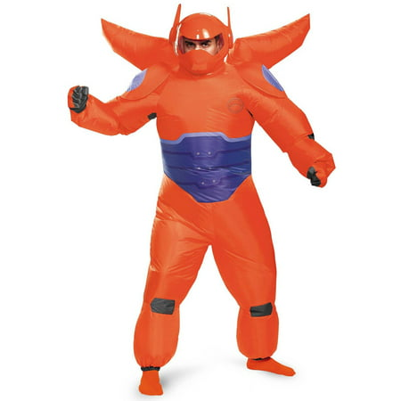 Big Hero 6 Red Baymax Inflatable Adult Halloween Costume, 1 Size (6 Nong Halloween)