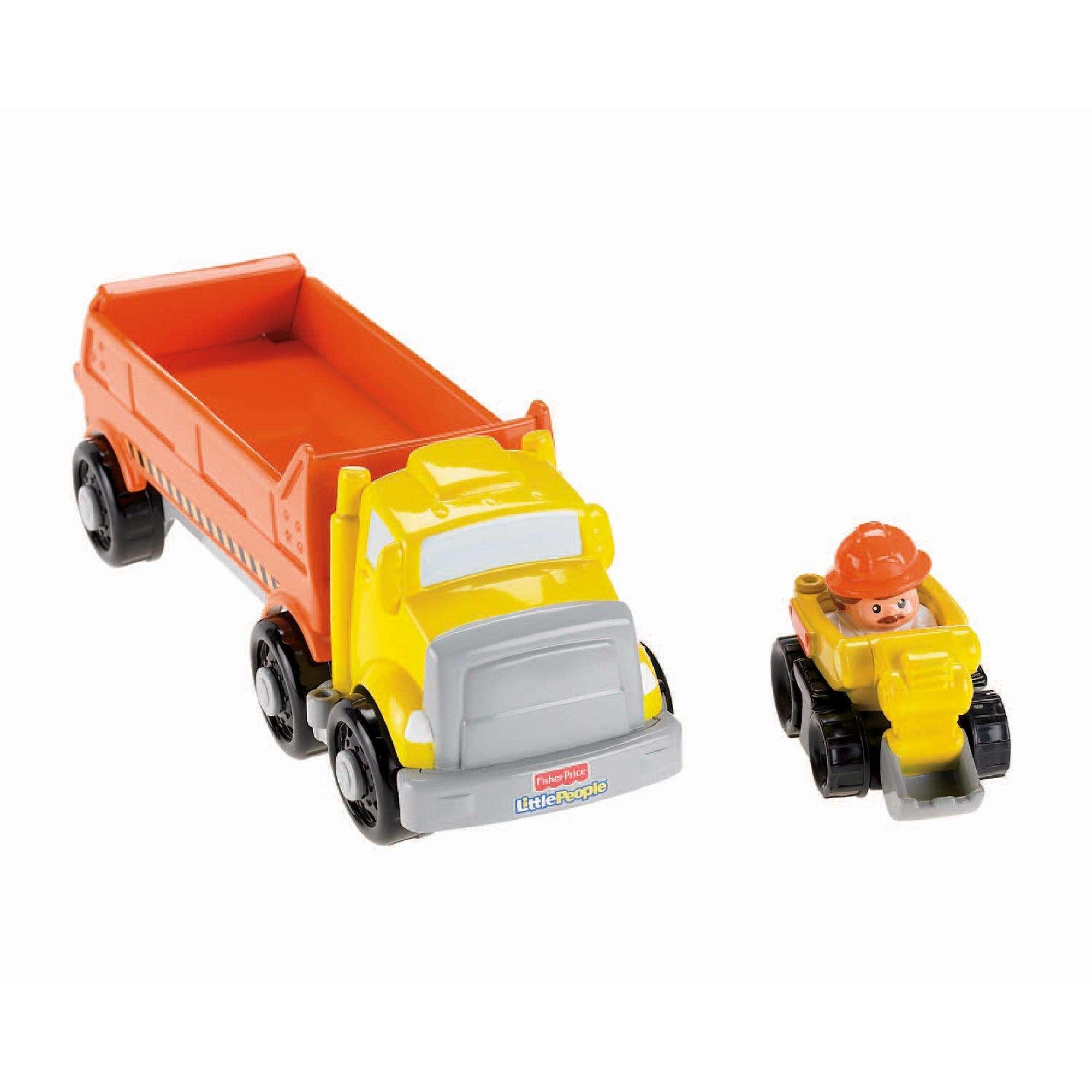 Little People Wheelies Car Carrier Construction