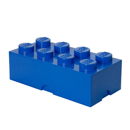 LEGO 8 Brick Storage Case - Blue