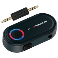 Monster Bluetooth Auxiliary Audio Receiver with Voice Control