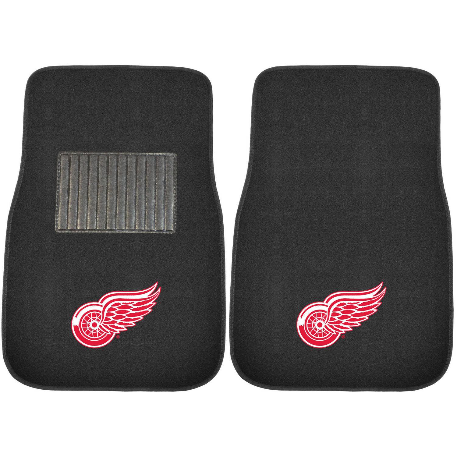 NHL Detroit Red Wings Embroidered Car Mats