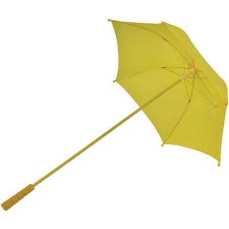 Nylon Parasol Adult Halloween Accessory - All White Halloween Makeup
