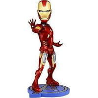 NECA Marvel Head Knockers Iron Man Bobble Head