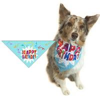 Happy Birthday Bandana-Male or Female-Dog-Puppy-Perfect Canine Gift  (Med-Lrg)