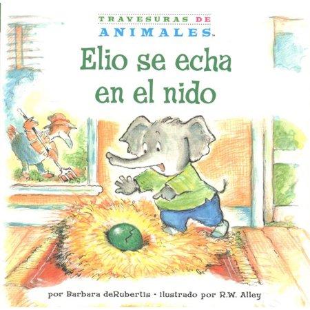 Elio Se Echa En El Nido   Eddie Elephants Exciting Egg Sitting