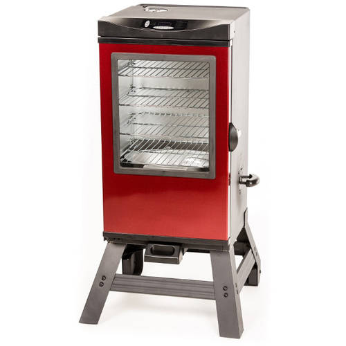 "Masterbuilt 30"" Digital Smoker Red with Bonus Carving Gloves"