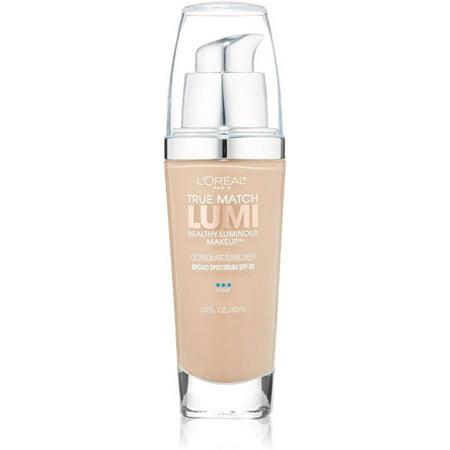 L'Oreal True Match Lumi Healthy Luminous Makeup, Creamy Natural [C3], 1.0 (L Oreal True Match Lumi Healthy Luminous Makeup)