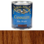 General Finishes, Gel Stain, Oil Based, Candlelite, Quart