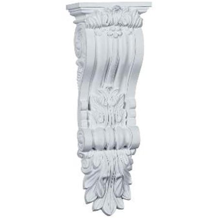 Ekena Millwork COR06X18X04HA 6.25 in. W x 4.38 in. D x 18.12 in. H Architectural Hampshire Corbel - image 1 of 1