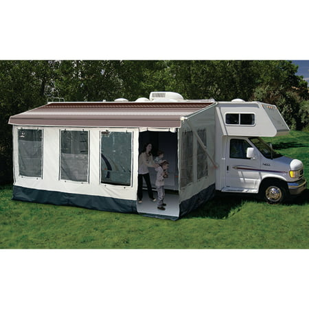 Carefree 211000A Buena Vista RV Screen Room for Awning Size 10' or 11'
