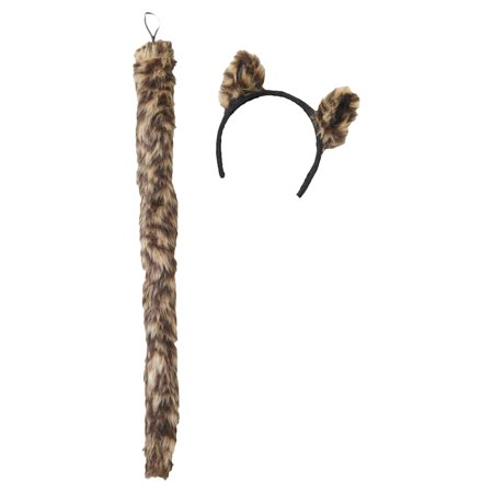 Morris Costumes Cougar Ears And Tail Set Costume - Halloween Cougar Ears