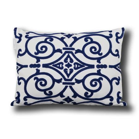 Utopia Alley Danube Embroidered Decorative Pillow, 14