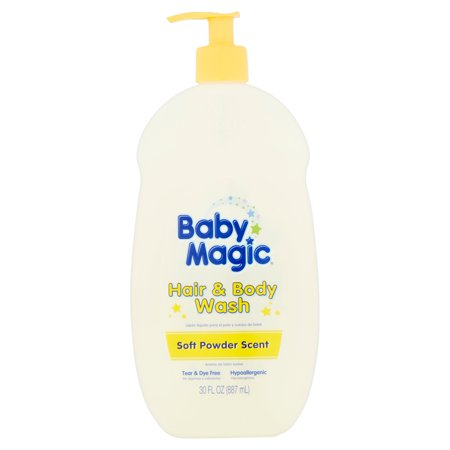 Baby Magic Hair And Body Wash Soft Powder Scent 30 Ounces