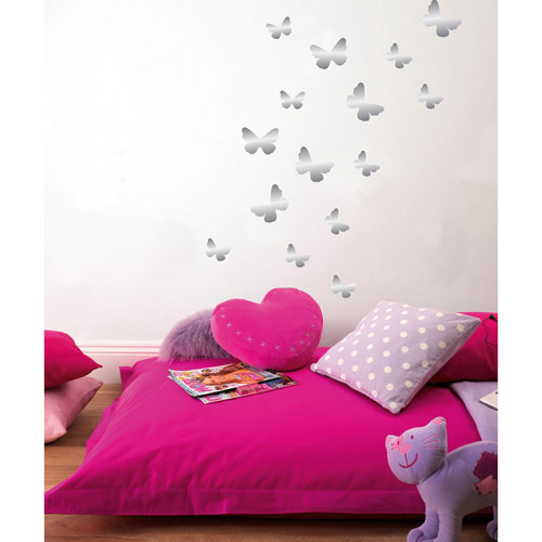 Fun4Walls Butterfly Foil Wall Stickers