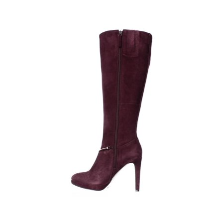 0be5a45c1f50 Nine West Pearson Wide-Calf Knee High Boots, Dark Red - image 4 of ...