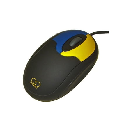 2 Button Scroll Usb (Ablenet USB Wired 800dpi Tiny Mouse w/ 2 Buttons and Scroll Wheel - Black)