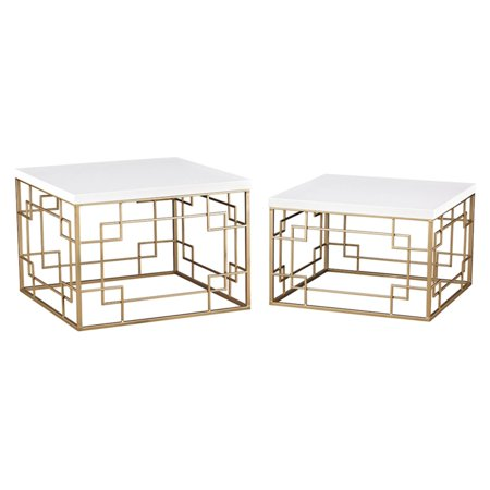 Sterling Sugar City 2 Piece Accent Table - City Table
