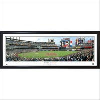 New York Mets 39'' x 13.5'' First Pitch at Citi Field Standard Framed Panorama