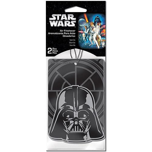 Plasticolor Star Wars Darth Vader Air Fresheners, 2-Pack